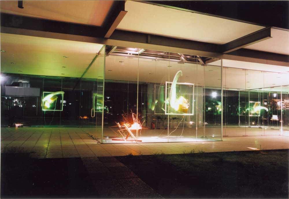 ausstellung im glaspavillon rheinbach 2002. Black Bedroom Furniture Sets. Home Design Ideas