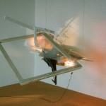 """ Feuerrahmenflieger ""1993, 140 x 110 x 100"
