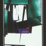 Bleiverglasung  1989, 75 x 200 cm