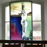 Kreuzigungsfenster    ( oben )