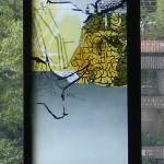 Weihnachtsfenster      Werkstattphoto. 2