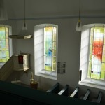 evang. Kirche Crumbach    Innenansicht